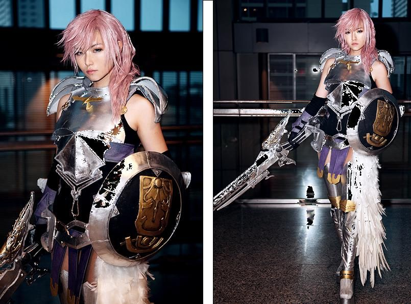 FFXIII Lightning cosplay!