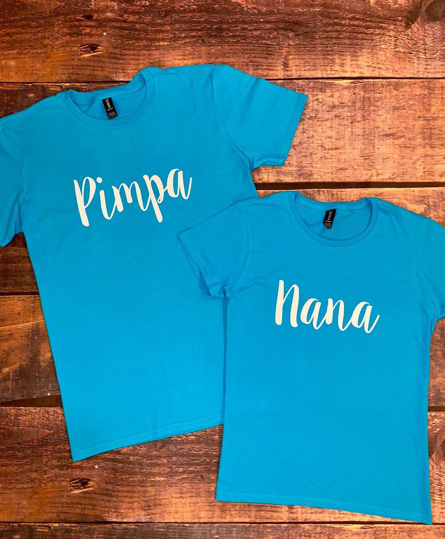 Nana & papa shirts, nana and papa shirts, nana and grandpa, grandma and grandpa shirts, mimi, poppy, papi #papashirts