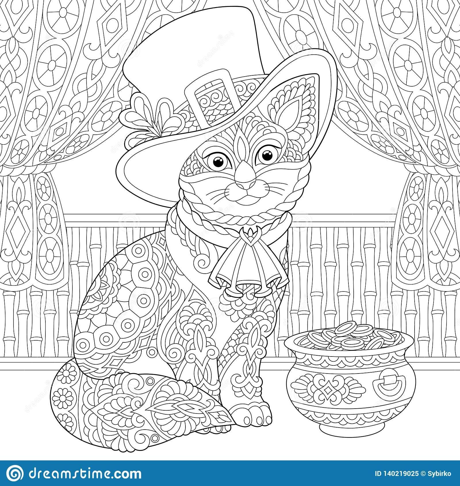 pin barbara op coloring cat 2 honden katten