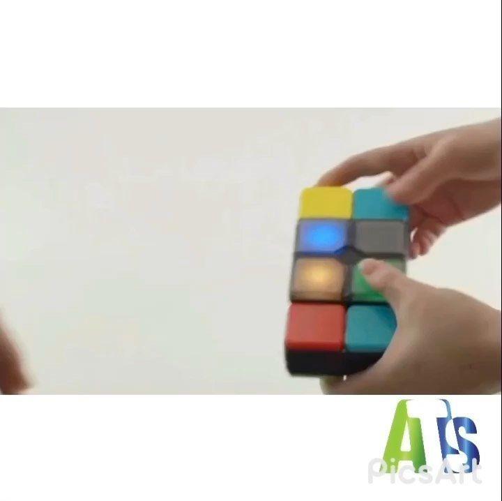 الآن متوفر في  #AtlasToys  لغز المكعب السحري الموسيقي  يتحدى المكعب السحري قدرتك على التفاعل ويضيف المزيد من المرح للعب.  الموسيقى والأضواء الملونة تخلق أجواء مثيرة للتحدي مثل لعبة حقيقية!  توصيل مجاني للشارقة و عجمان و ام القيوين  للتواصل : واتس اب: 0507182629  Now available at #Atlastoys  Musical magic cube puzzle  The Magic Cube challenges your ability to interact and adds more fun to play.  Music and colorful lights create a challenging atmosphere like a real game!  Free Delivery to Sharja