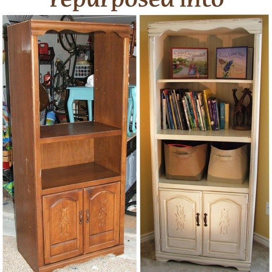 Captivating Repurposed Toy Cabinet   Before U0026 After