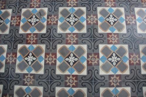 ≥ Antieke keramische patroontegel vloer 16x16 - Tegels - Marktplaats.nl