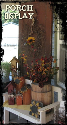 Porch ideas--On The Avenue