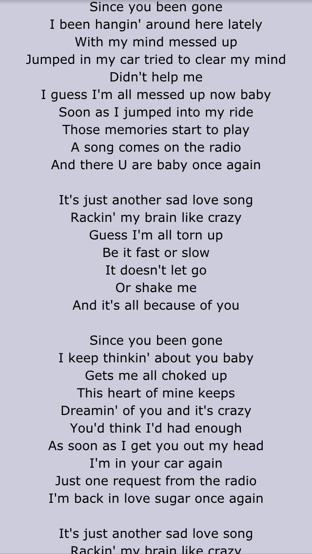 Lyric maroon five love somebody lyrics : Toni Braxton- Another sad love song | Lyrics | Pinterest | Toni ...