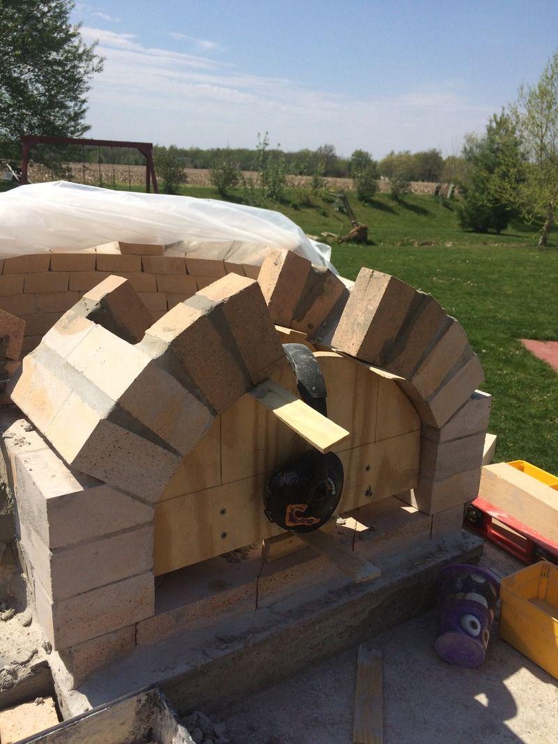 36 Pompeii Build West Lafayette In Forno Bravo Forum The Wood