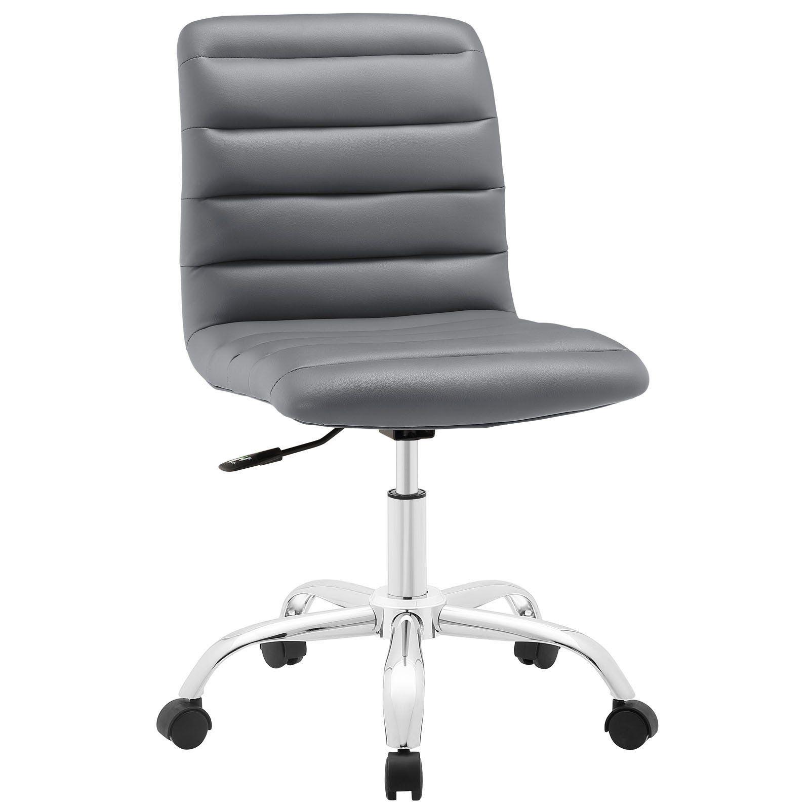 Modway Modern Ripple Mid Back Adjustable Computer Office Chair EEI-1532