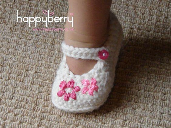 autopista reposo Genuino  34 Zapatitos para tu Bebita | Zapatos tejidos para niña, Ganchillo bebe,  Zapatos de bebé de ganchillo