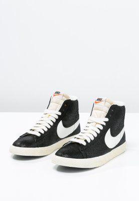 Nike Sportswear BLAZER MID VINTAGE - Baskets montantes - black/sail/wolf  grey -