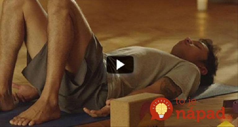 Obetujtete dve minúty svojho času a môžete získať skutočne veľa - zdravšiu chrbticu bez bolesti.