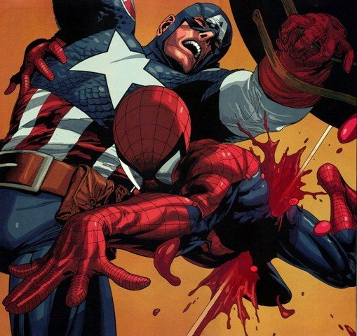 capital e homem aranha