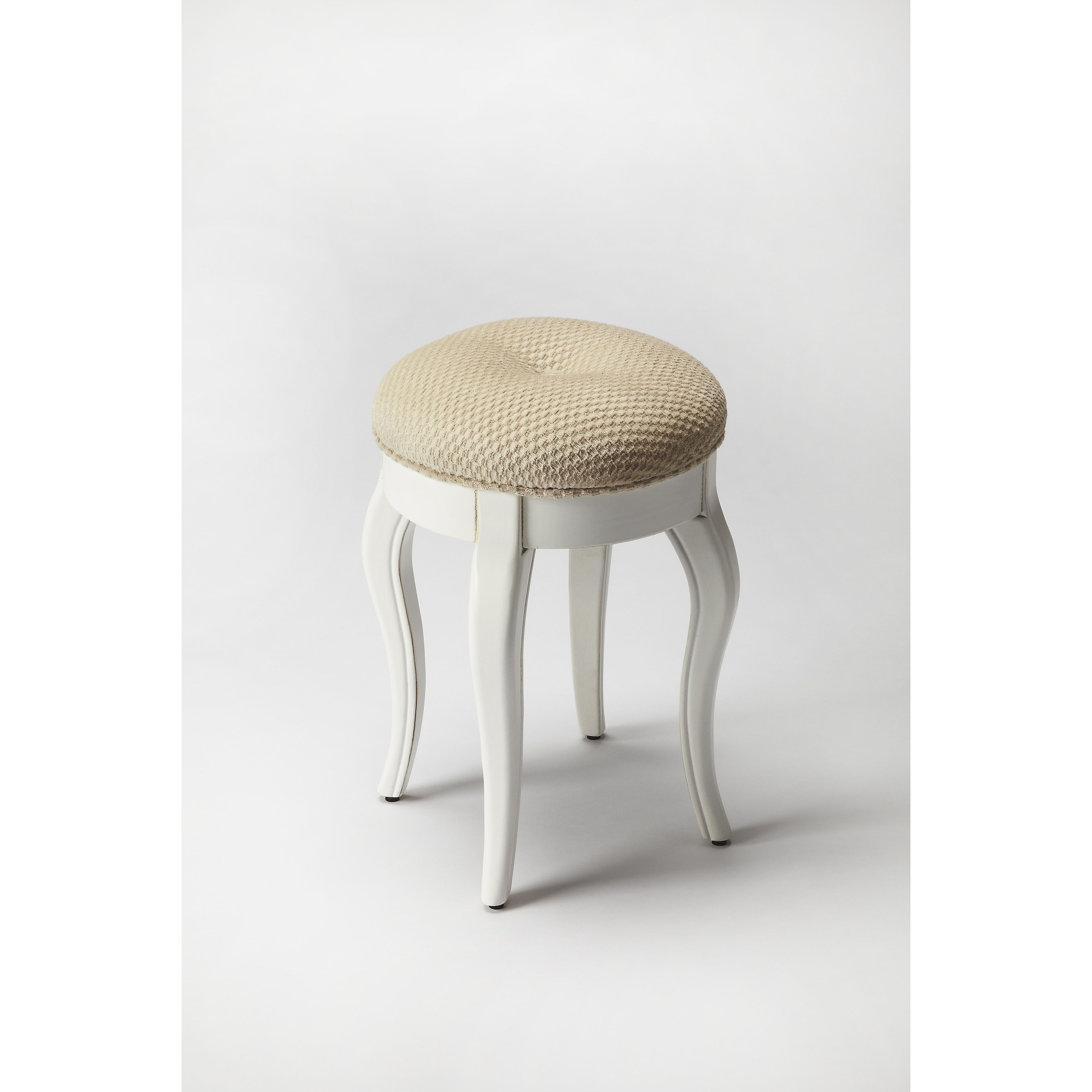 Awe Inspiring Butler Nadia Cottage White Vanity Stool Products In 2019 Andrewgaddart Wooden Chair Designs For Living Room Andrewgaddartcom