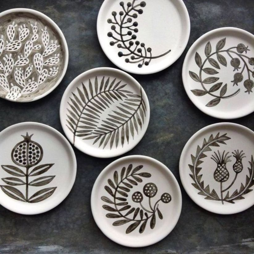 fine 50 Pottery Painting Ideas and Design #PotteryPainting ...