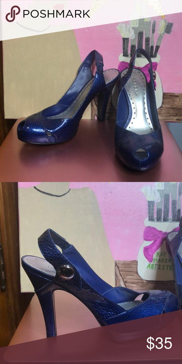 2e06aa1523 Bcbg girls shoe Blue heels BCBGirls Shoes Heels