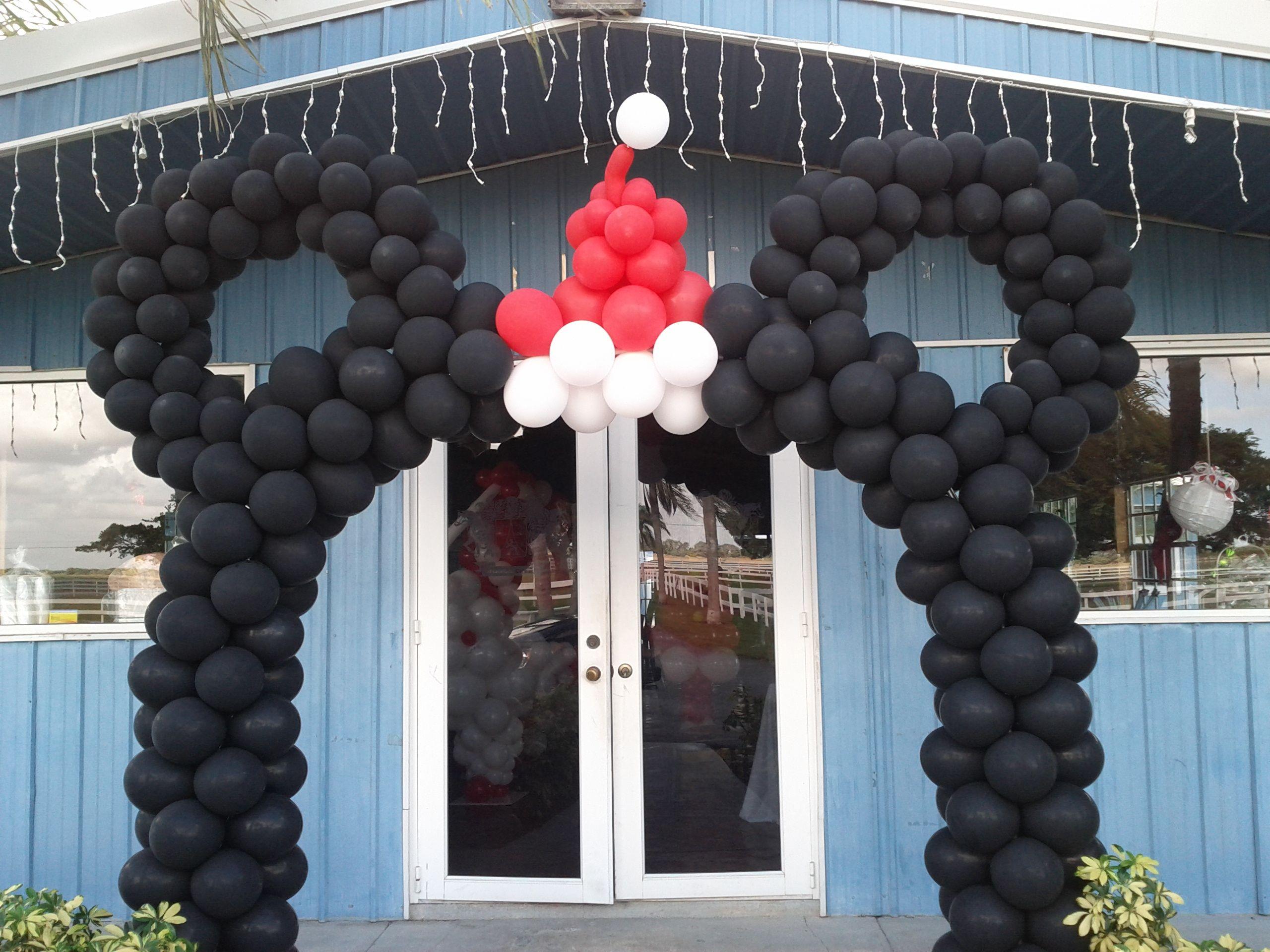 Christmas Mickey Balloon Arch Www Dreamarkevents Com