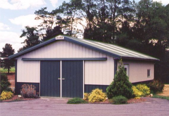 Post Frame Garages By Graber Buildings Garages Outdoor Structures Custom Garages