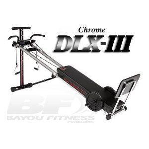bayou fitness total trainer dlxiii home gym sports http