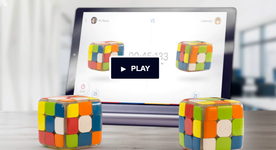 GoCube Helps You Learn, Play and Compete with Rubik's Cube