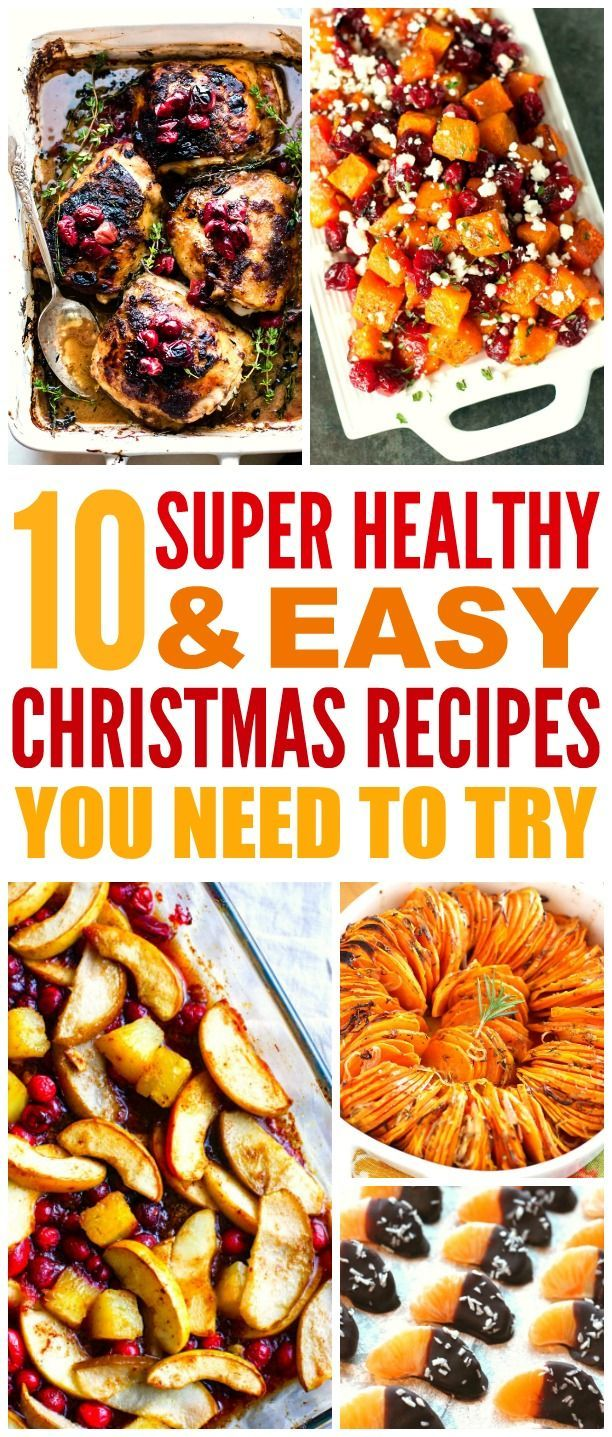 10 Super Healthy and Easy Christmas Dishes You Need to Try images