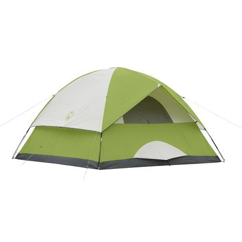 Colemen 6 person 9x9 tent. Mine is an older modelblue grey and orange  sc 1 st  Pinterest & Colemen 6 person 9x9 tent. Mine is an older modelblue grey and ...