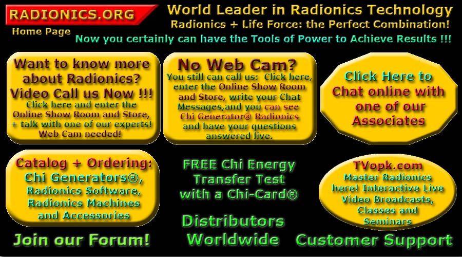 science of radionics - chi energy Amazing Inventions Pinterest