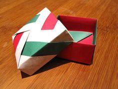 Origami Schachtel In Modular Technik Gefunden Auf Trforge