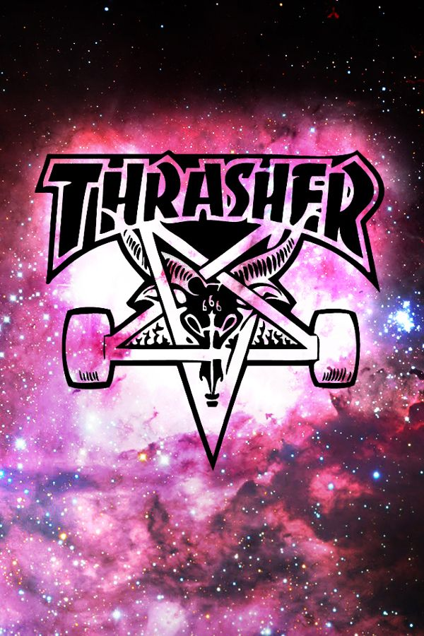 Thrasher Wallpaper on Behance Papel de parede para