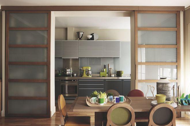 Avec portes coulissantes, une cuisine ouverte ou fermée à vous de ...