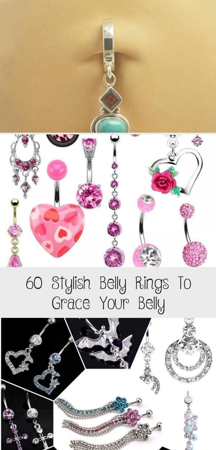 60 Stylish Belly Rings To Grace Your Belly in 2020 Belly