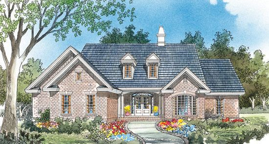 House Plan The Andover By Donald A Gardner Architects Stone House Plans Brick House Plans House Plans