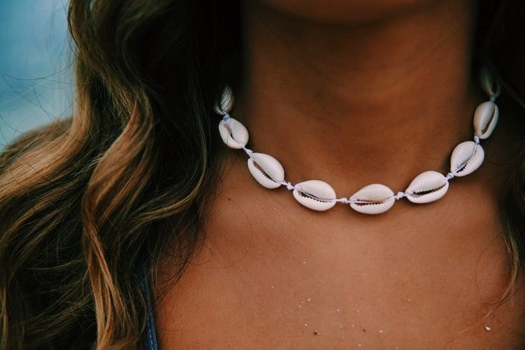 Image result for puka shell necklaces vsco