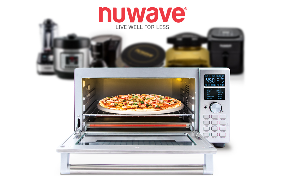NUWAVE Bravo XL 1800watt Smart Air Fryer