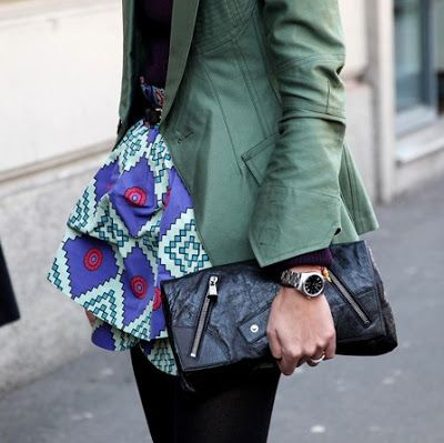 Maxi Clutches, moda de rua - fashion street