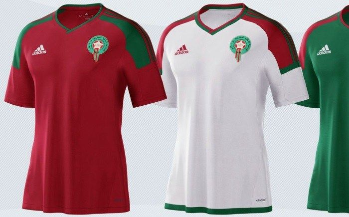 Morocco 2017 African Cup of Nations adidas Kits | Maroc