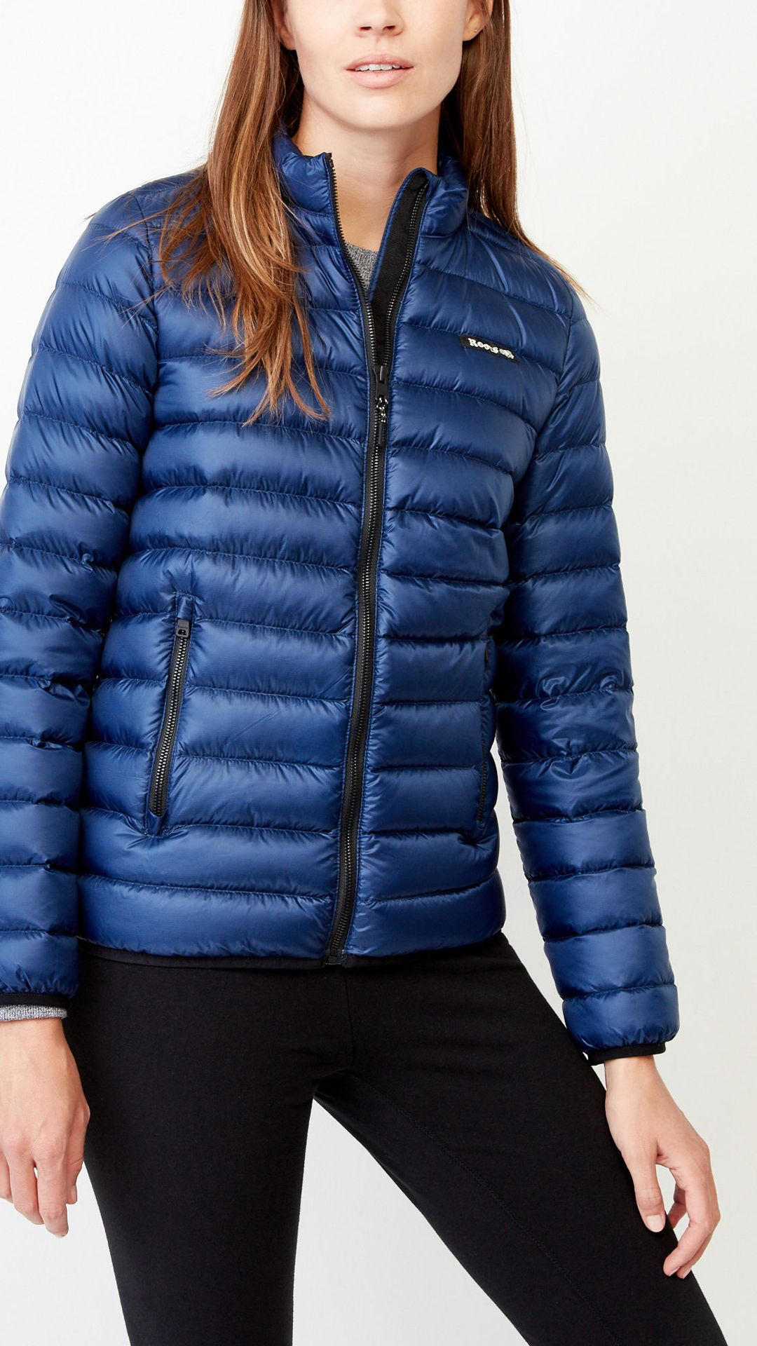 131f3085b5 Ready for any adventure, our Roots Packable Down Jacket is an easy-to-