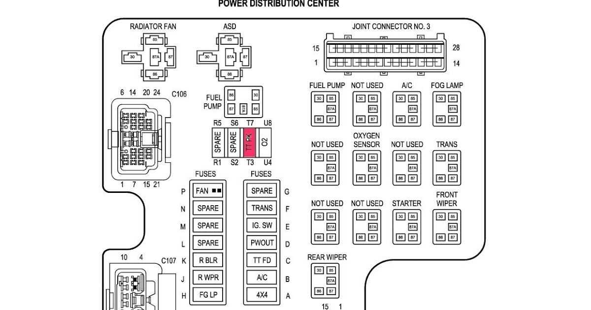 2002 Dodge Ram 1500 Instrument Cluster Wiring Diagram from i.pinimg.com
