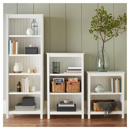 Stafford 3 Shelf Bookcase Bludot Target 3 Shelf Bookcase