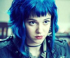 Ramona Flowers Blue Hair Ramona Flowers Blue Hair Bright Hair