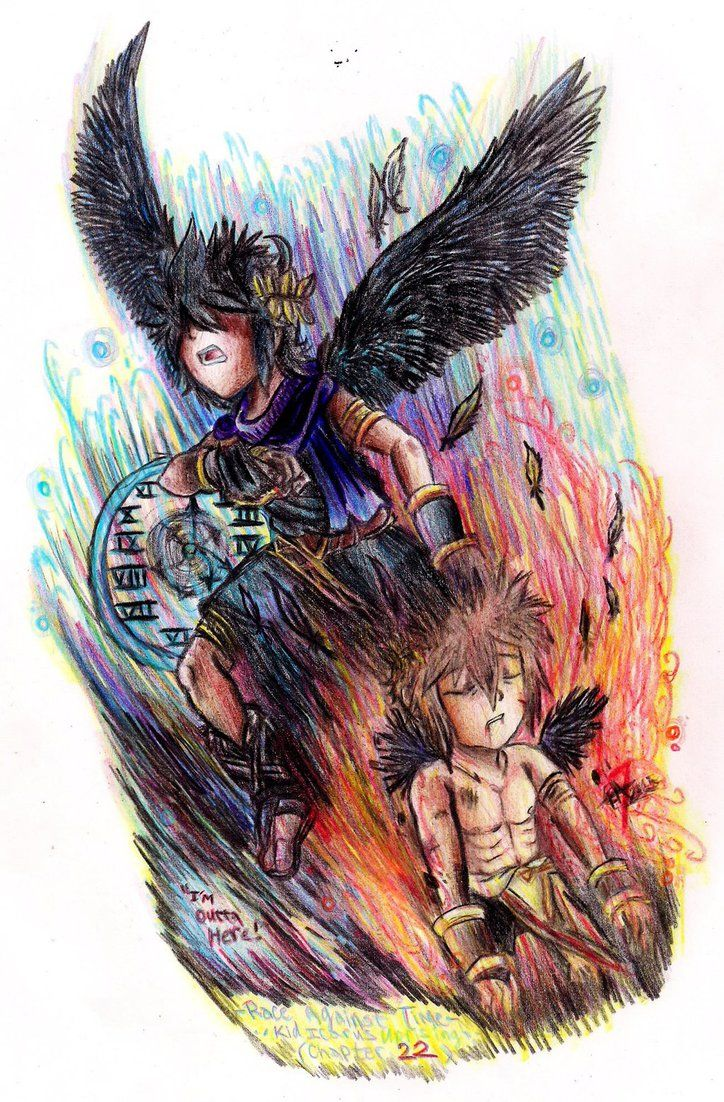 Race Against Time Kid Icarus Uprising C22 By PrideAlchemist7