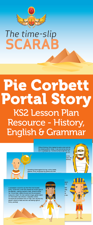 Pie Corbett Portal Story Ks2 Lesson Plan Resource History Pie