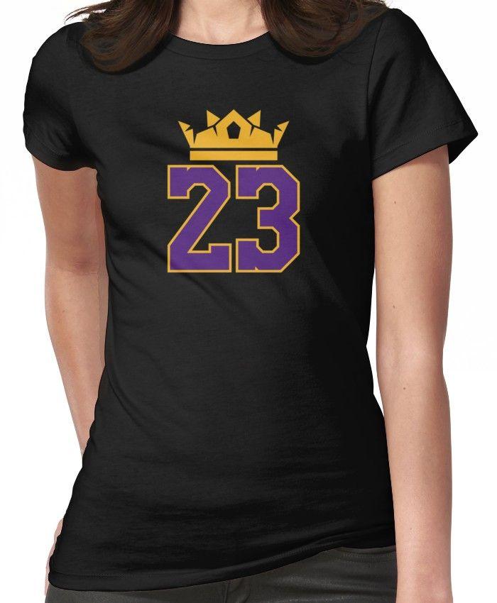 King 23 Lebron James Lakers T-Shirt Women s T-Shirt  f4765dcbc