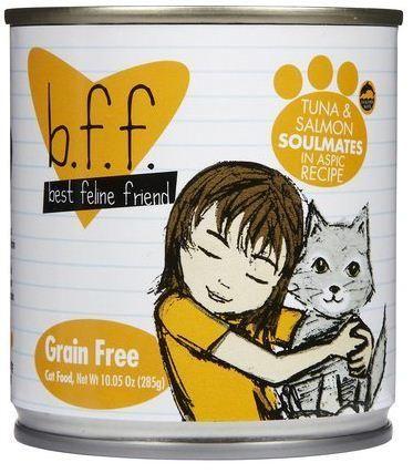 Weruva BFF Tuna and Salmon Soulmates in Aspic Canned Cat