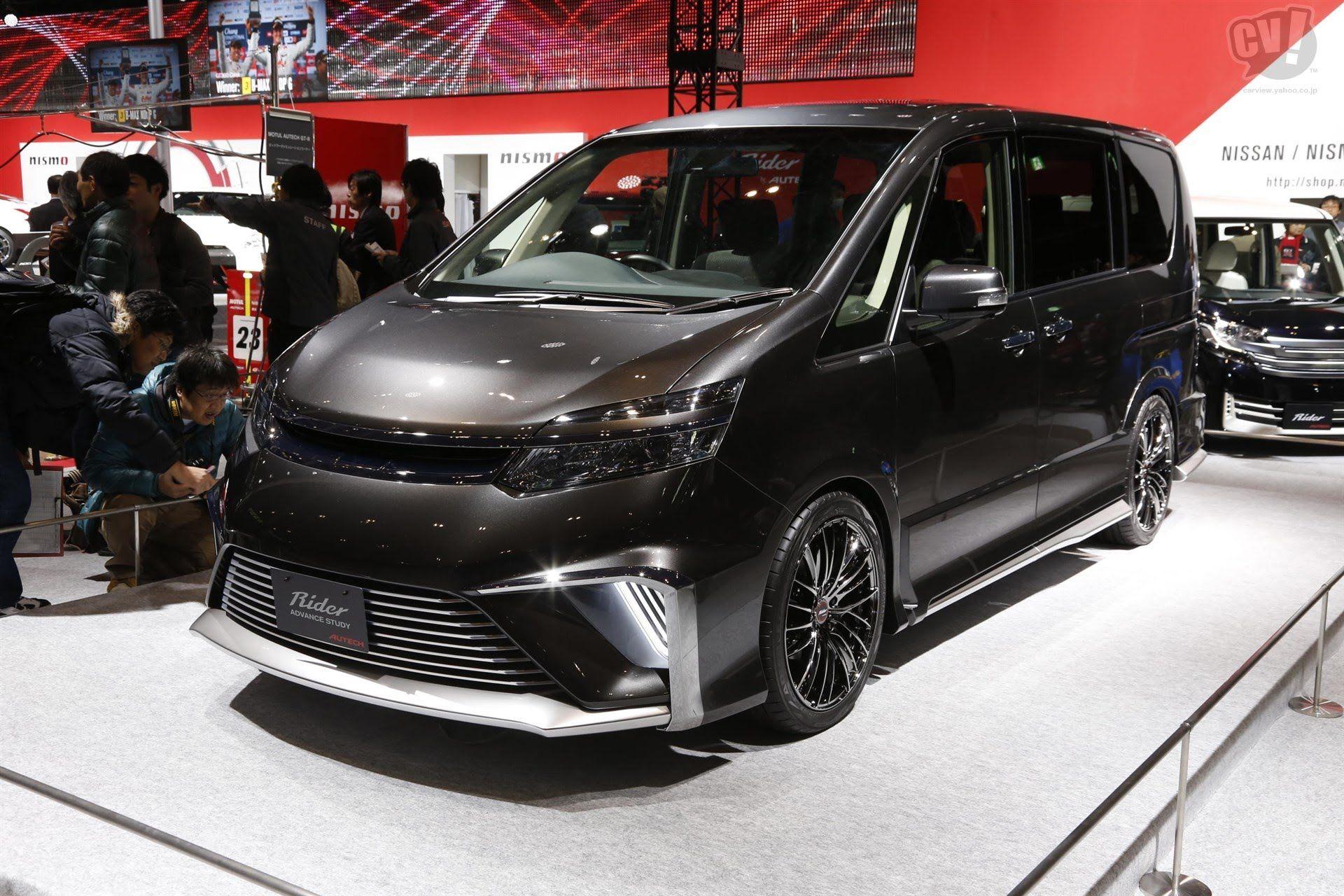 Nissan Serena Rider Advance Study Concept Tokyo Auto Salon 2015