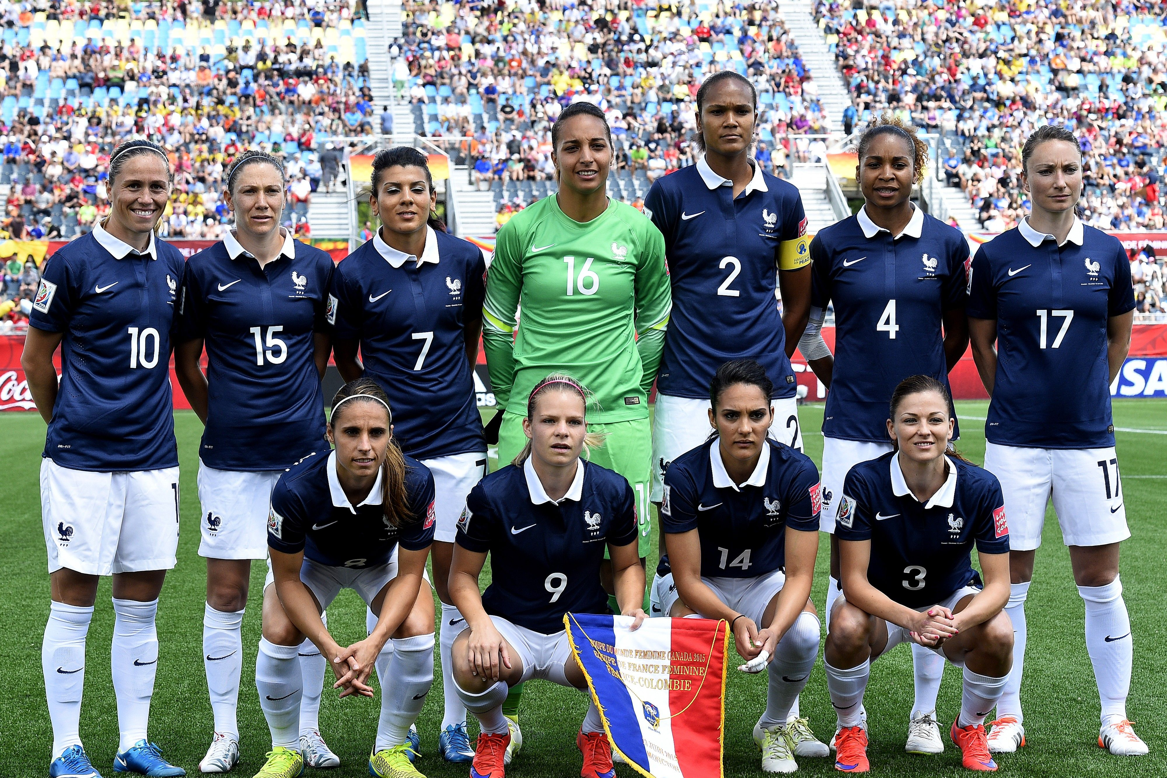 Equipe De France Feminine Football 2015 France Women