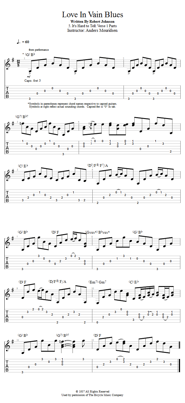 Guitar Lessons Its Hard To Tell Verse 1 Parts Guitar Lessons 2