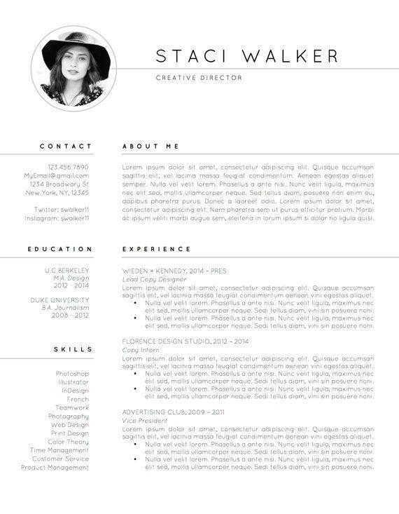 Modern Resume Template Pk Cv Template  References Letter