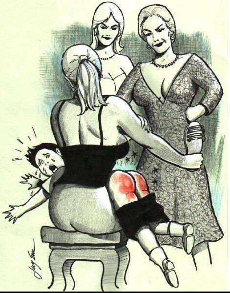 First spank women then love