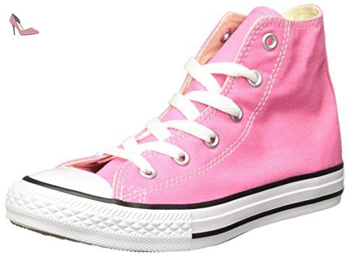 Converse Ctas Core Hi, Baskets Hautes mixte fille, Rose, 29 EU