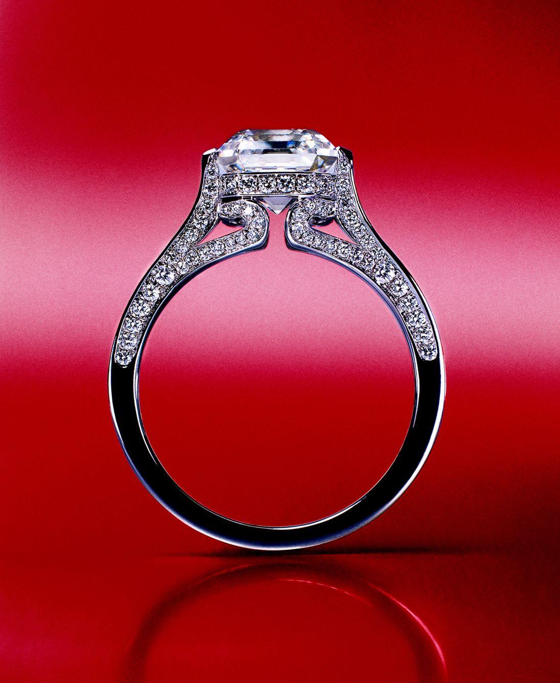 Rosendorff \'Engagement Rings\' Ascher and Brilliant Diamond ...