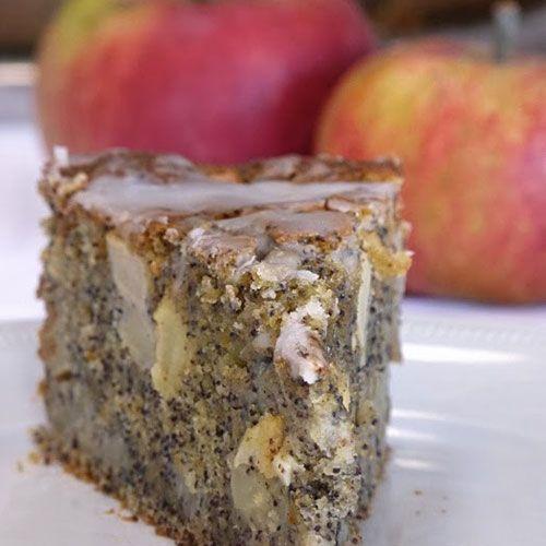 Apfel mohn kuchen schnell
