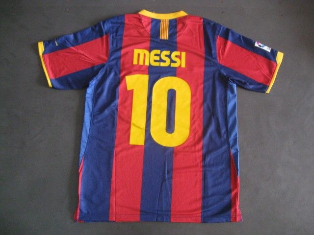 best cheap 60227 5ccc0 MESSI 10 BARCELONA 10/11 home kit jersey and shorts | hot ...